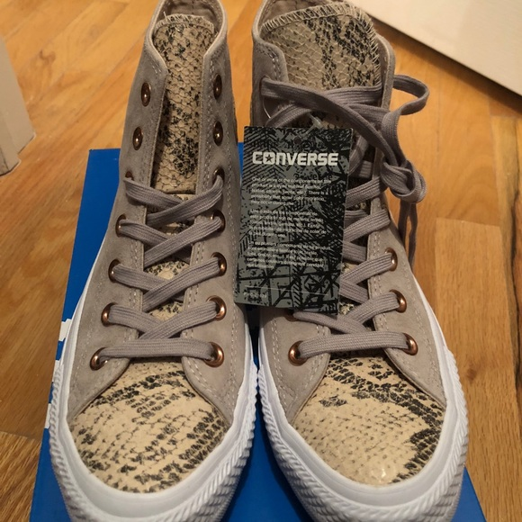 Snakeskin Converse Womens Sneakers